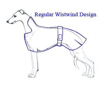 Knitting Pattern For Whippet Coat : Wistwind Design Dog Coats